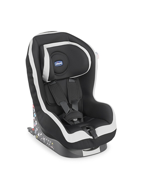 Chicco New Go - One Baby Car Seat Coal Renkli